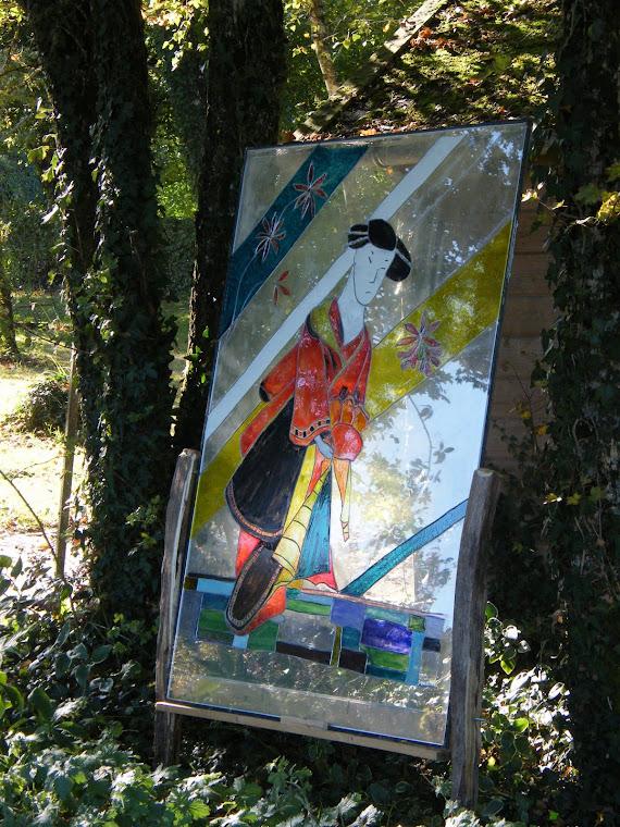 peinture vitrail*