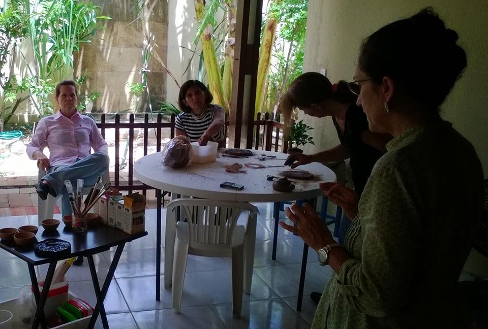 Workshop Meditação, Terapia e Arte com Argila