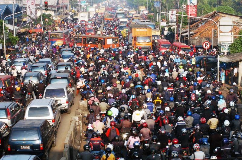 jakarta indonesia traffic - photo #15