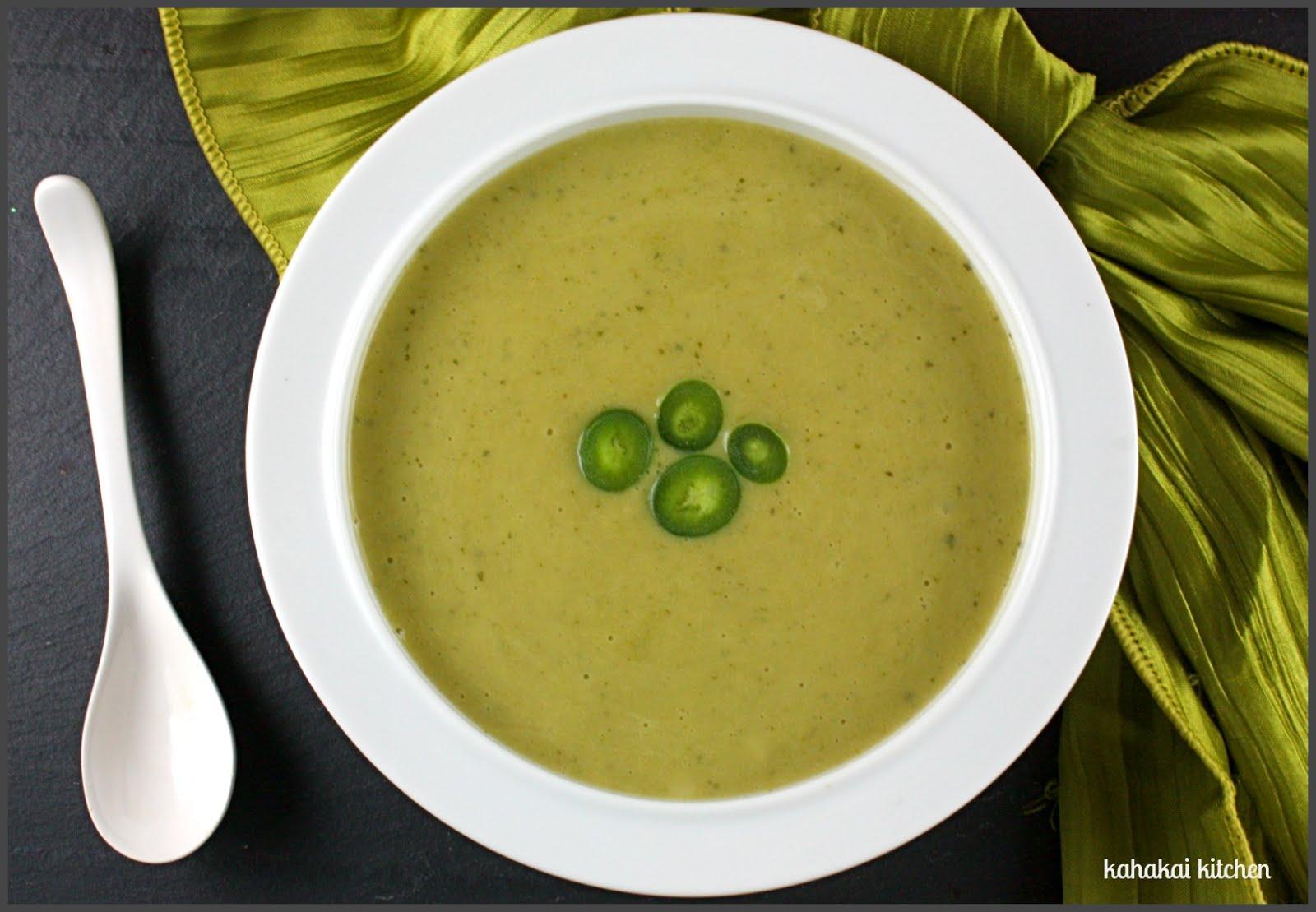 Ginger Pea Soup Recipe — Dishmaps