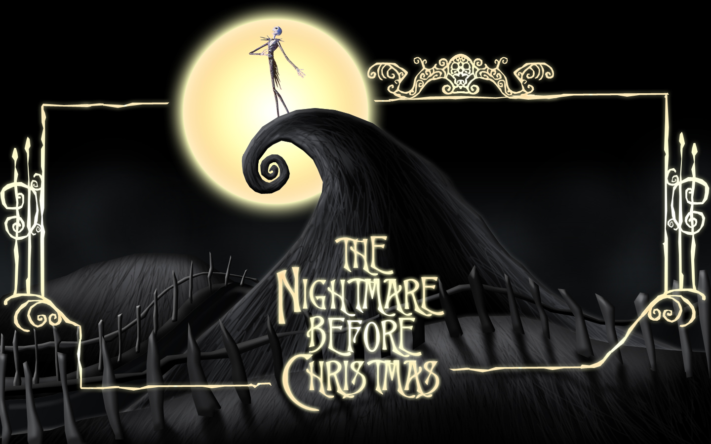 Tim Burton The Nightmare Before Christmas Wallpaper