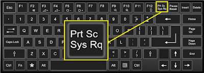 Screenshot keyboard