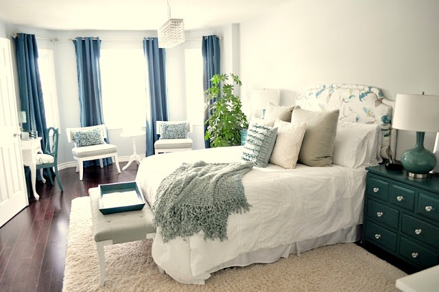Happily Ever Before U0026 After Week 28: Master Bedroom Makeover Via Living  Beautifully