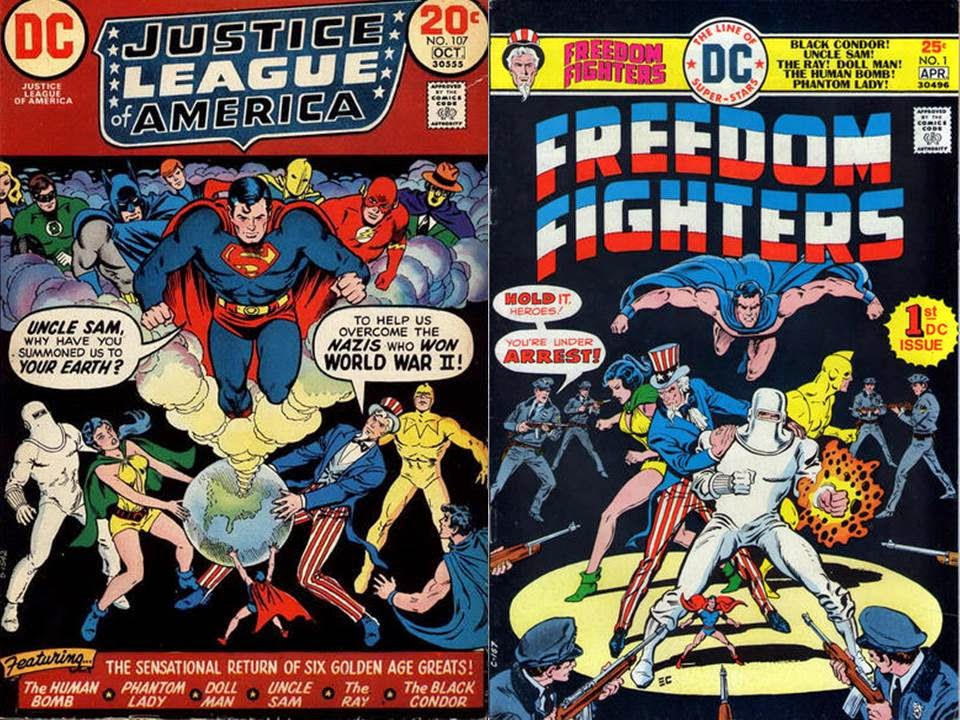 Dave U0026 39 S Comic Heroes Blog  Freedom Fighters Quality