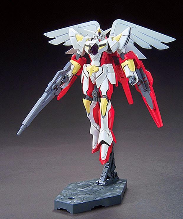 Gundam guy hgbc 1 144 portent flyer new images for Portent flyer
