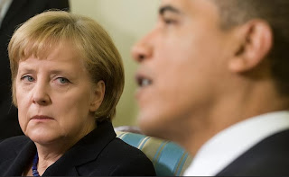 German Chancellor Angela Merkel and U.S. President Barack Obama