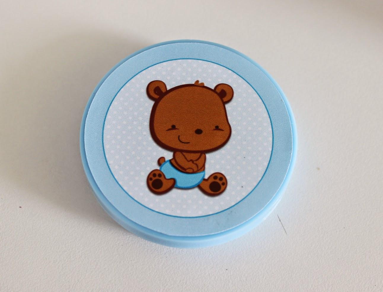 Lembrancinha para Chá de Bebê com confeitos