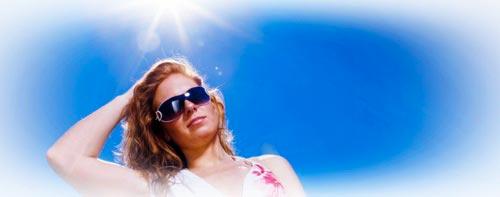 como aclarar el pelo bajo el sol