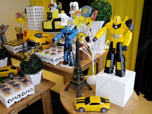 Marcadores Aniversários , Decoração de Festas , Transformers