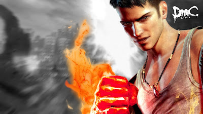 Dante DMC Devil May Cry Wallpaper