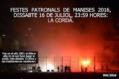 16.07.17 LA CORDÀ VUELVE A MANISES, 15 AÑOS DESPUÉS