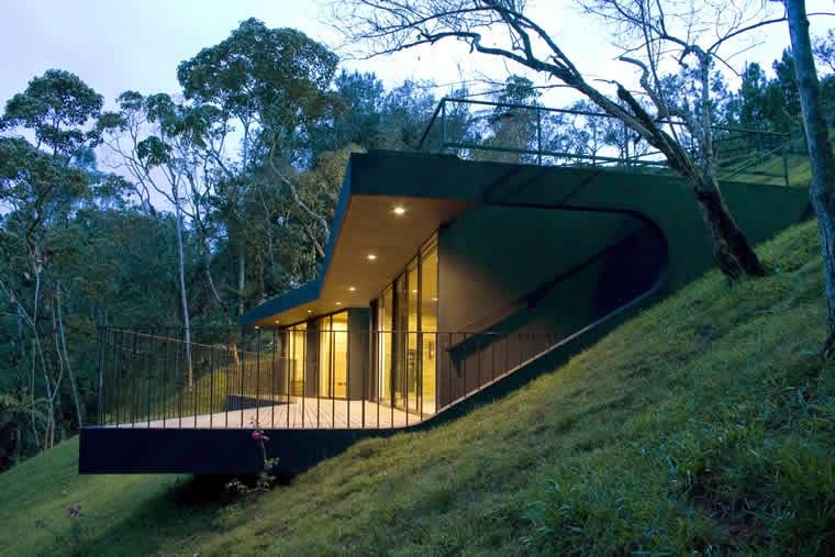 The gallery for refugio arquitectura - Arquitectura moderna casas ...