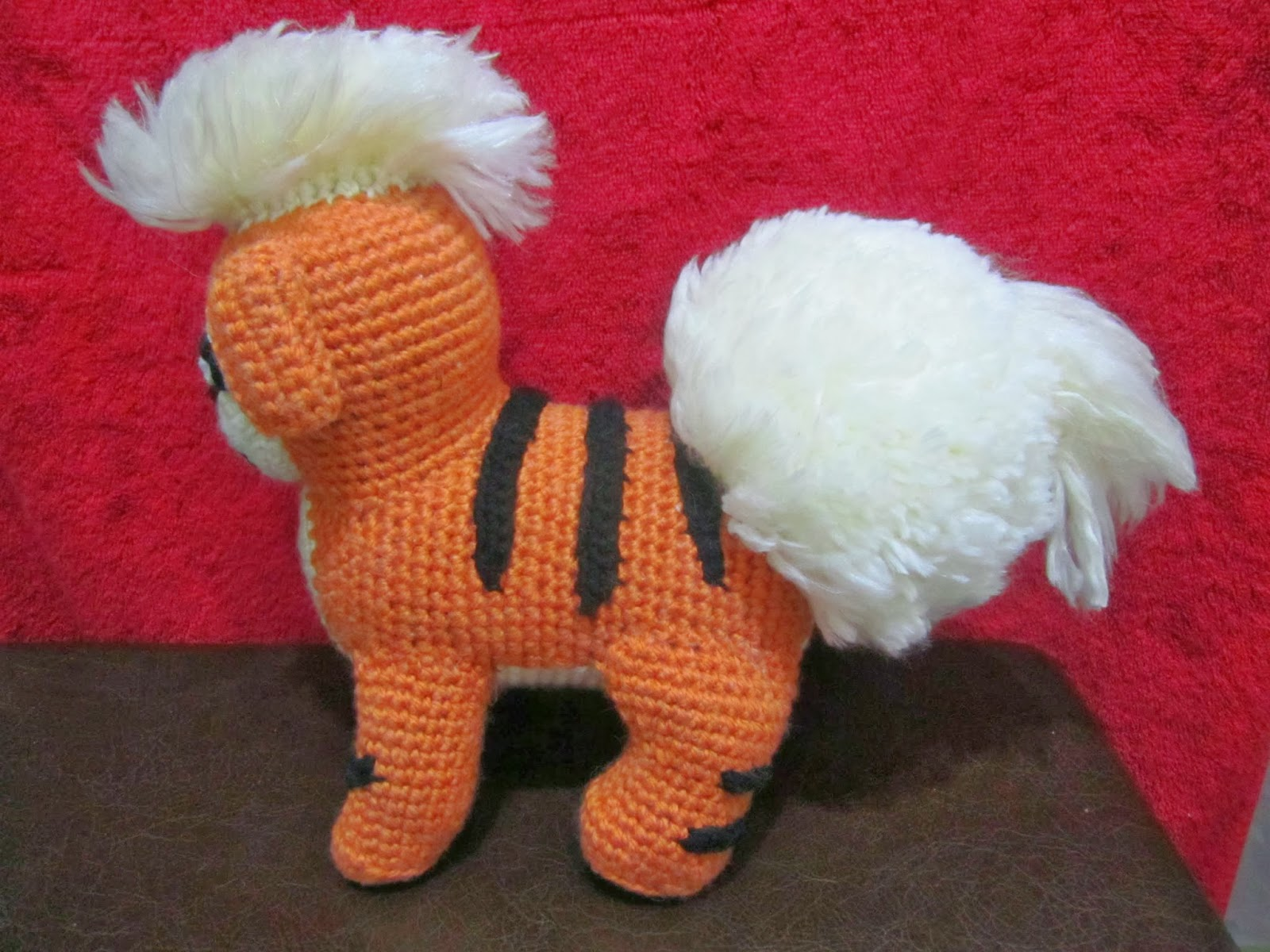 Amigurumi Pokemon Patterns Free : The pokemon crochet journey pokemon growlithe part final