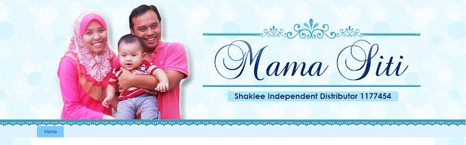Tempahan Design Blog Mama Siti