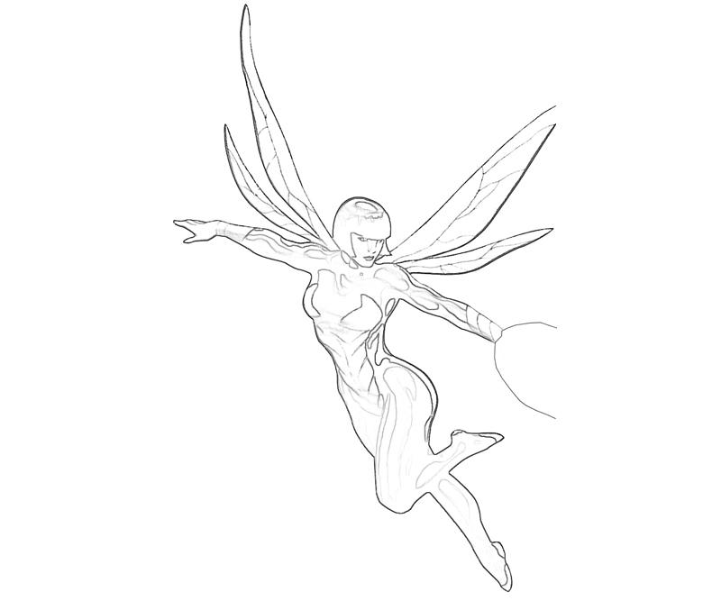Avengers Wasp Coloring Pages : Best ideas about ant man on pinterest avengers wasp