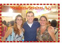Rio Artes 2011 - Meninas Arteiras RJ e o apresentador Rogerio Chiaravalli do programa Arte Brasil!!