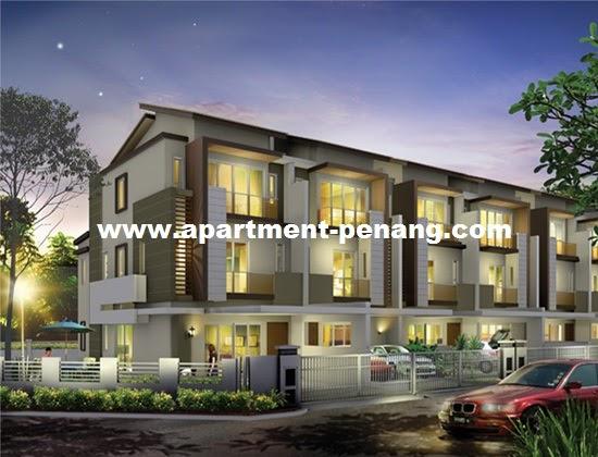 Ehretia setia greens apartment for Terrace 9 classic penang