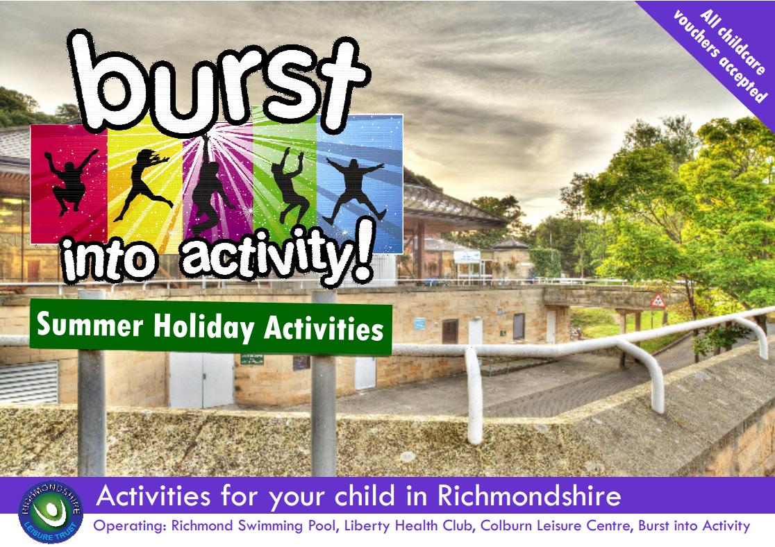 Burst Summer Holiday Activities