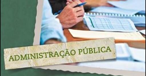 Artigos sobre administracao publica