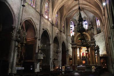 Sant Just i Pastor gothic church