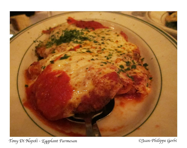 Image of Eggplant parmesan at Tony Di Napoli in Times Square NYC, New York