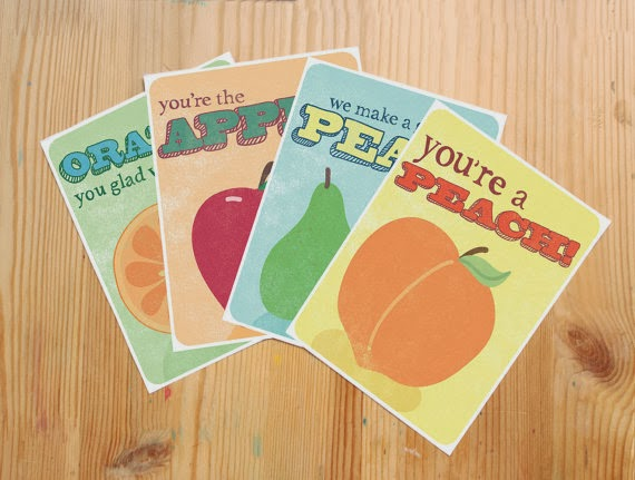 Etsy Valentine Cards for Kids