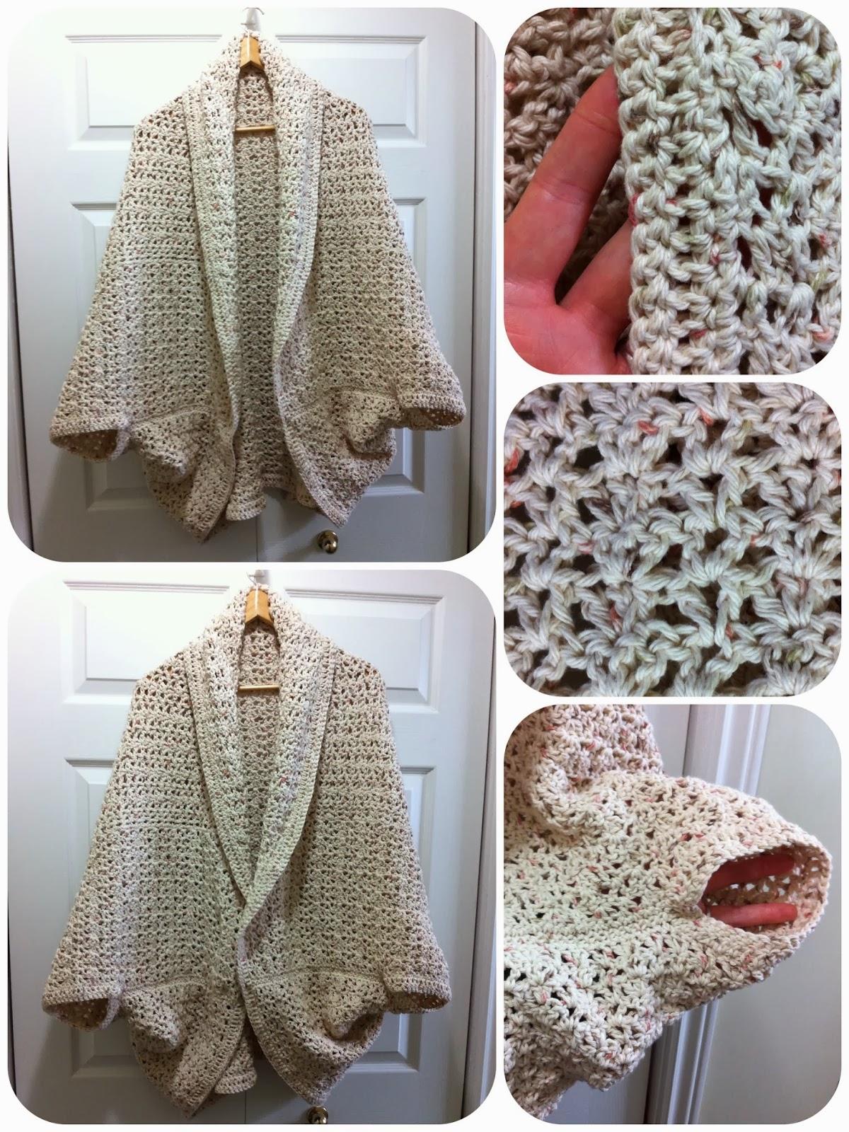 a Passion 4 CROCHET: My Oversize Crochet Shrug