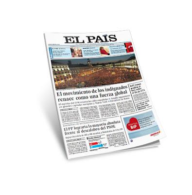 Diario El Pais 16 Octubre 2011