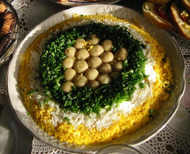 Mushroom Glade Salad Ukraine