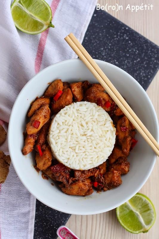 Sałatka azjatycka z kurczakiem