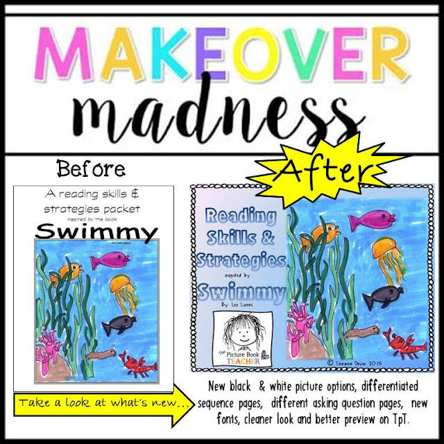 TpT Seller Challenge Makeover Madness by The Picture Book Teacher