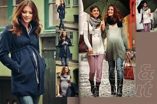 moda de invierno para embarazadas coleccin