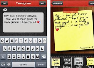 Tweegram pour iOS