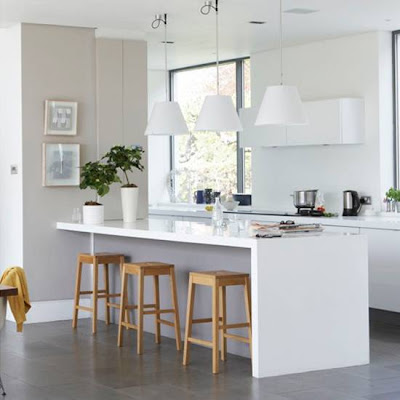 Perfect White Modern Kitchen