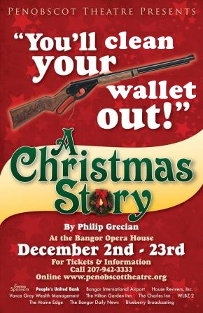 A_Christmas_Story,Penobscot_Theatre,spoof,poster