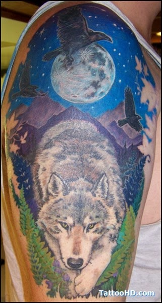 The Best Wolf Tattoos (Gallery 2)