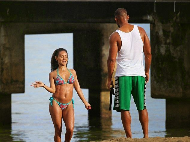 Will Smith and wife were snapped to enjoying their family getaway in Hawaii, USA on Saturday, June 7, 2014.