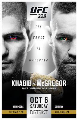 UFC 229 Khabib Vs McGregor 2018 Custom HD Dual Latino