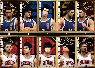 Slam Dunk 2K13 Mod Ryonan versus Shohoku  2K