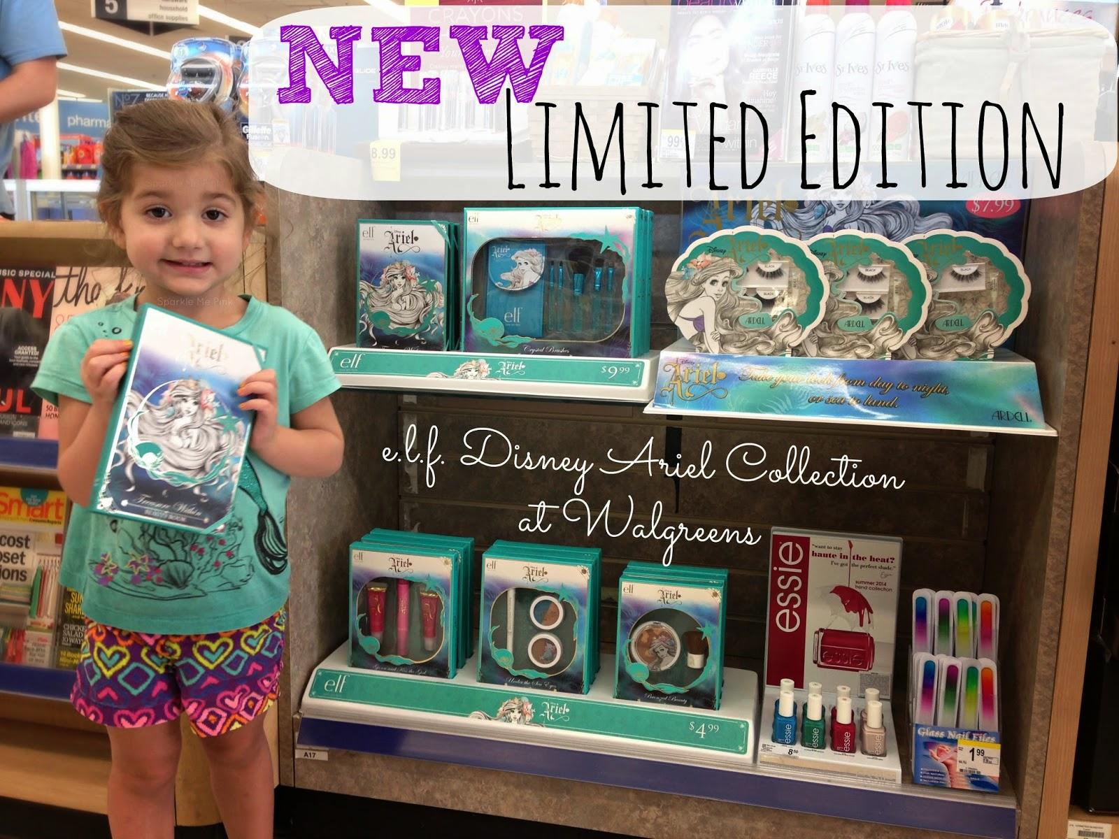 Sparkle Me Pink: SPOTTED: Disney Ariel Limited Edition e.l.f. Makeup ...