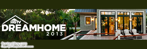 HGTV Dream Home 2013 Giveaway Sweepstakes - A luxury vacation home, a