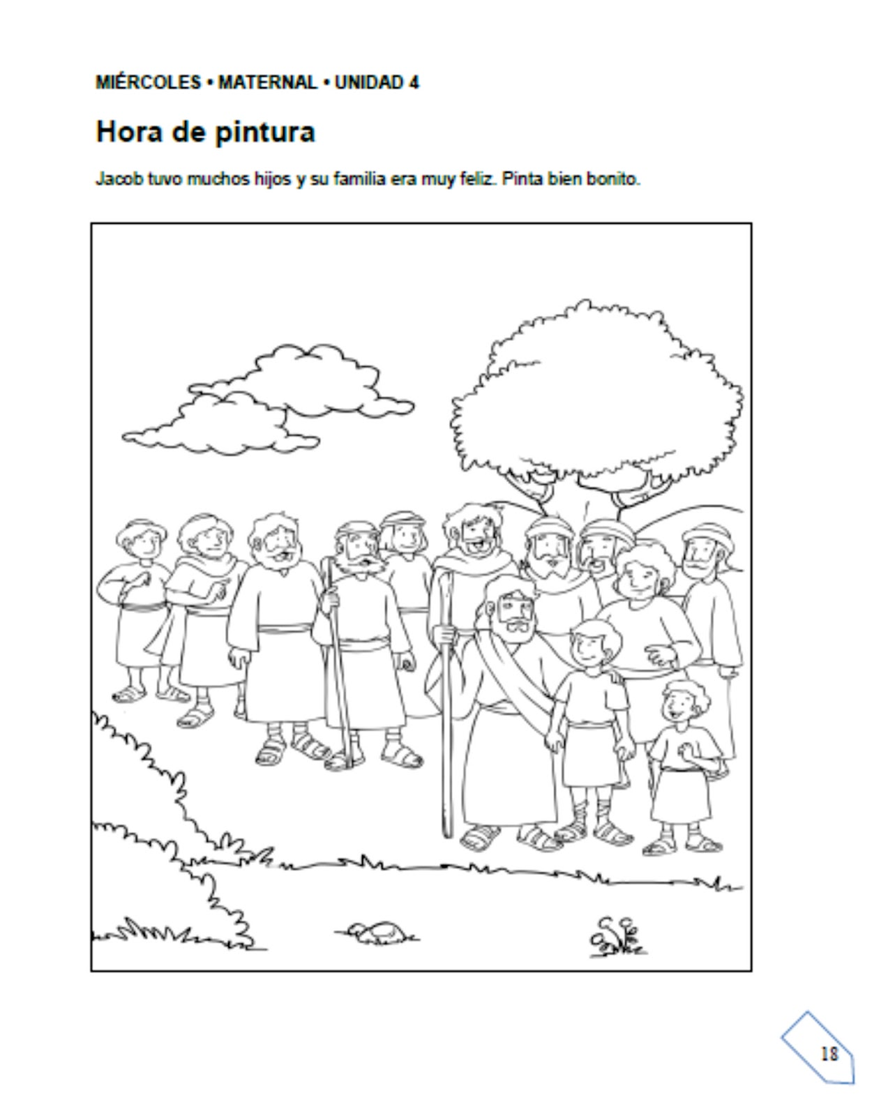 Contemporáneo Jacob Y Esau Birthright Para Colorear Viñeta - Ideas ...