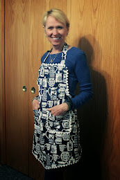 Kim of Snug Harbor Bay in her new Apron!
