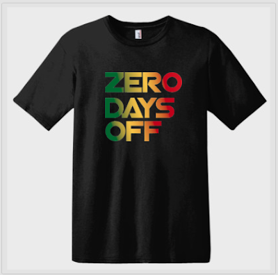 envymytee.com  Zero days off t-shirt