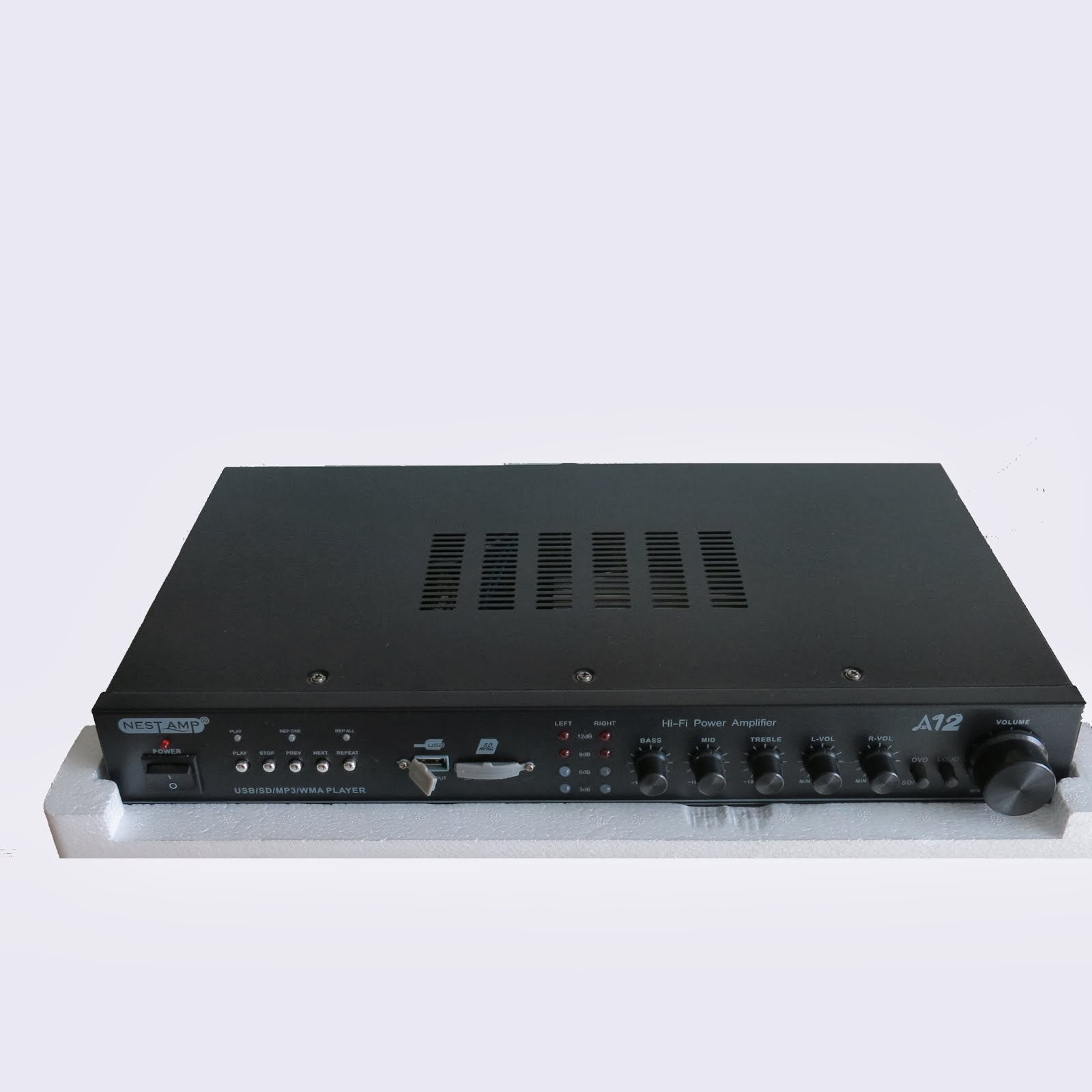 Ampli hifi stereo mini