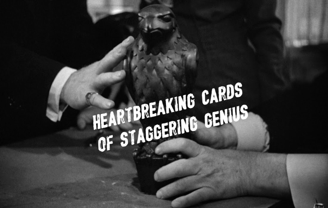 Heartbreaking Cards of Staggering Genius