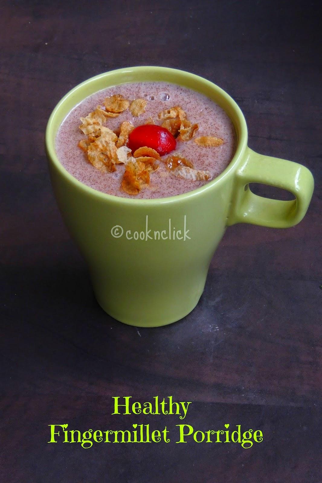 Sprouted ragi porridge, breakfast ragi porridge,Healthy fingermillet porridge, ragi malt