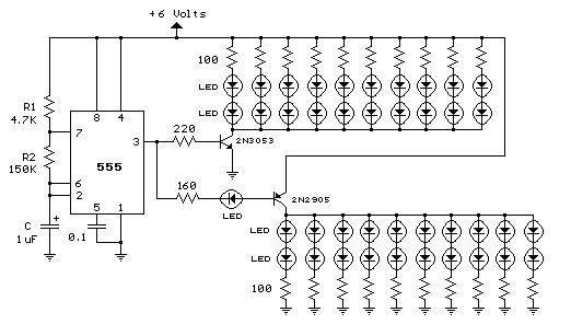 running led u0026 39 s circuit diagram