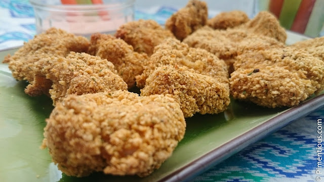 Nugget Panggang Rempah Itali (Baked Chicken Nugget with Italian Herbs)