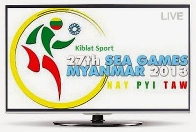Jadwal Siaran Langsung SEA Games 2013 Myanmar